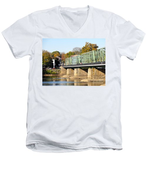 A Day For Tourists Men's V-Neck T-Shirt