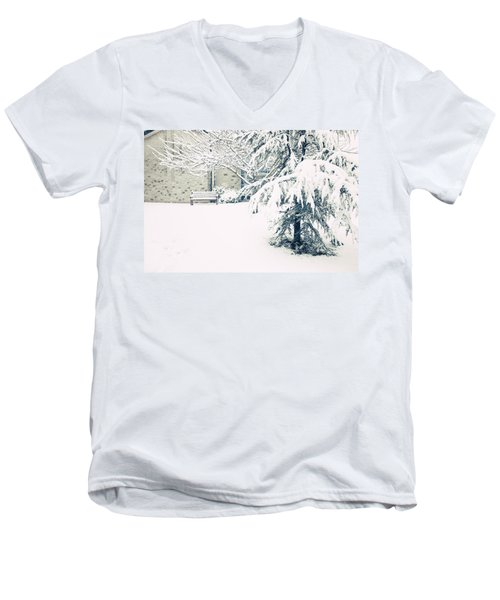 A Gentle Frosting Men's V-Neck T-Shirt