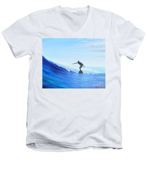 A Good Day Men's V-Neck T-Shirt