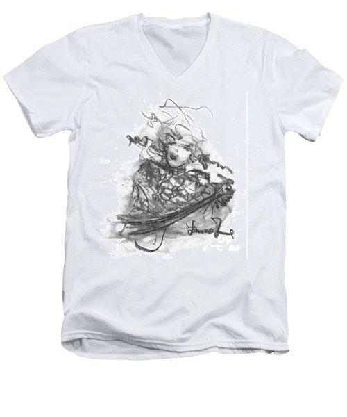 A Great Musician Men's V-Neck T-Shirt