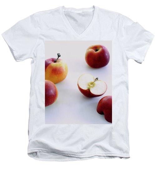 A Group Of Apples Men's V-Neck T-Shirt