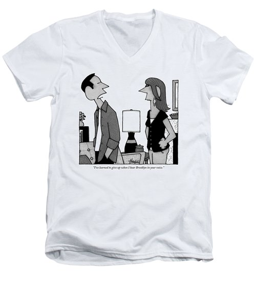 A Husband To His Wife Men's V-Neck T-Shirt