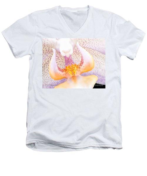 A Neighbors Orchid Men's V-Neck T-Shirt