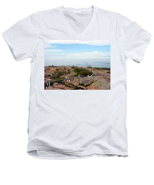 A Walk On The Mountain Men's V-Neck T-Shirt