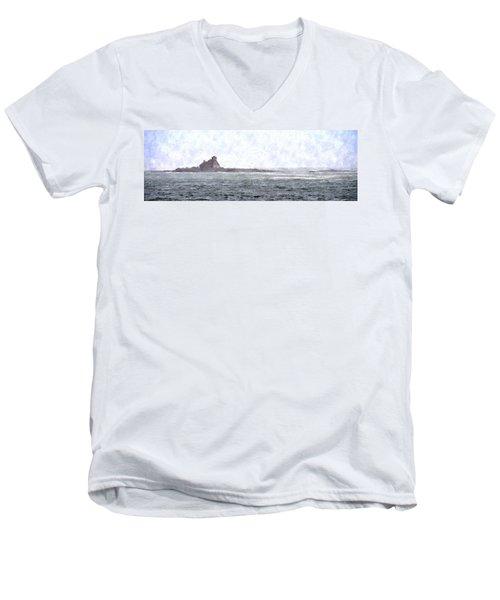 Abandoned Dreams Abwc Men's V-Neck T-Shirt by Jim Brage