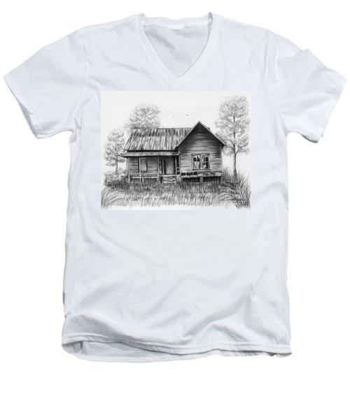 Abandoned House Men's V-Neck T-Shirt