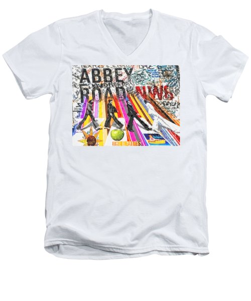Abbey Road Men's V-Neck T-Shirt