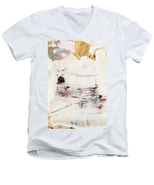 Abstract Original Painting Number Eleven Men's V-Neck T-Shirt