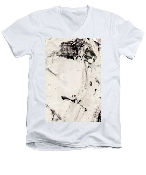 Abstract Original Painting Number Four Men's V-Neck T-Shirt
