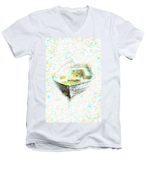 Abstract Rowboat Men's V-Neck T-Shirt