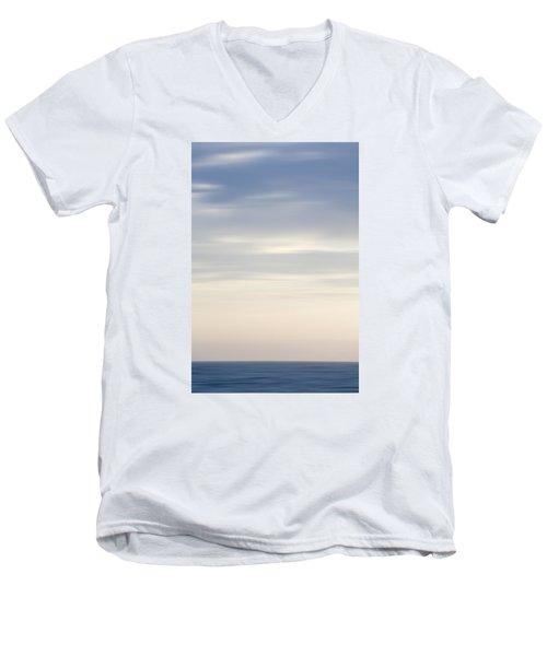 Abstract Seascape No. 05 Men's V-Neck T-Shirt