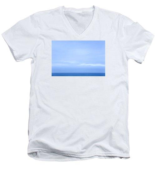 Abstract Seascape No. 07 Men's V-Neck T-Shirt