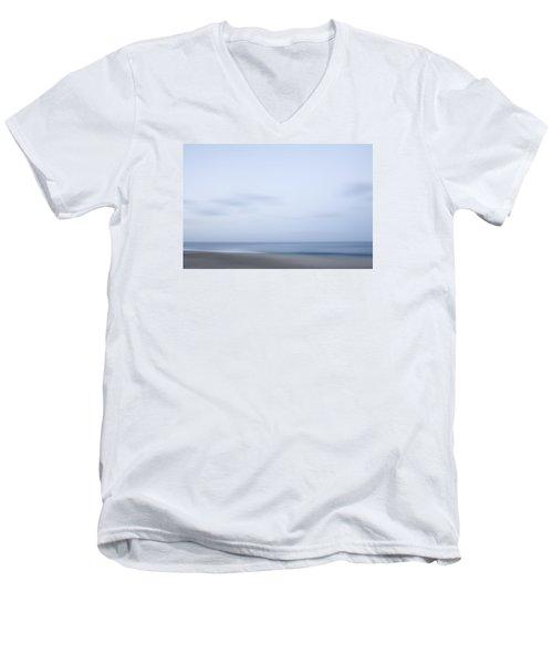 Abstract Seascape No. 08 Men's V-Neck T-Shirt