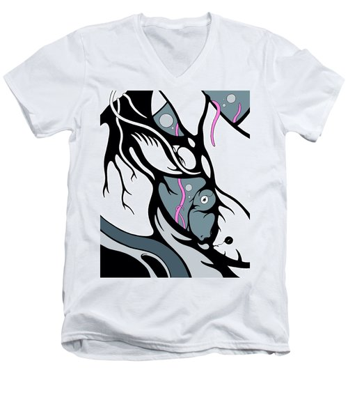 Abyss Men's V-Neck T-Shirt