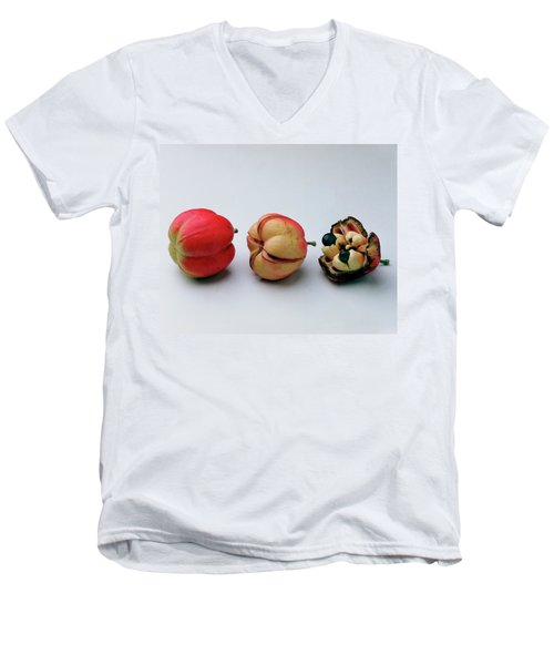 Ackee Fruit Development Men's V-Neck T-Shirt