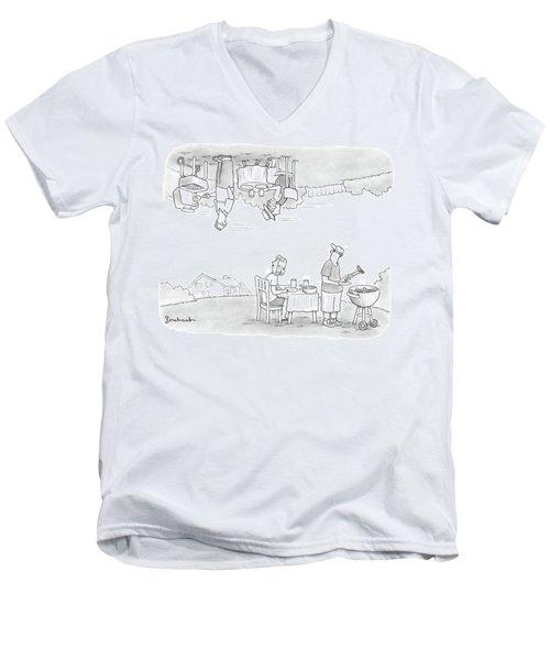 Add Your Own Caption Week #292 Men's V-Neck T-Shirt