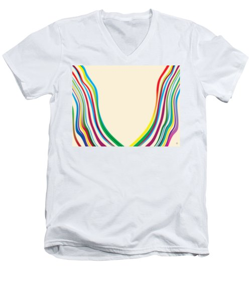 After Morris Louis 2 Men's V-Neck T-Shirt