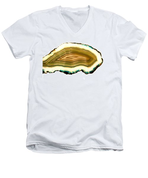 Agate 1 Men's V-Neck T-Shirt