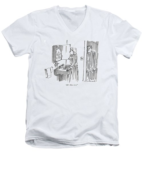 Ah!  Here It Is! Men's V-Neck T-Shirt