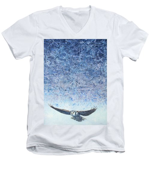Ahead Of The Storm Men's V-Neck T-Shirt
