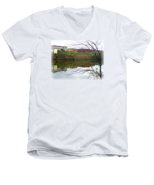 Alabama River Selma 3 Men's V-Neck T-Shirt