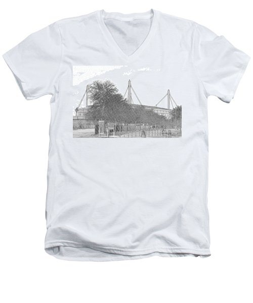 Alamo Dome Men's V-Neck T-Shirt