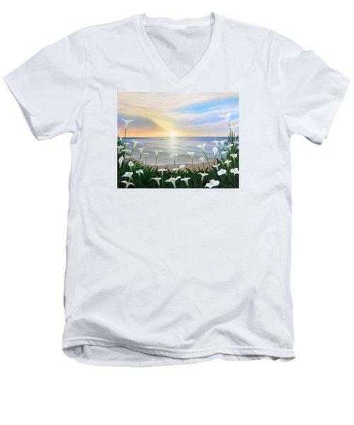 Alcatraces Men's V-Neck T-Shirt