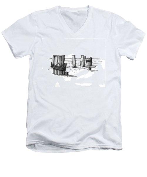 All That Remains Ocracoke 1970s Men's V-Neck T-Shirt