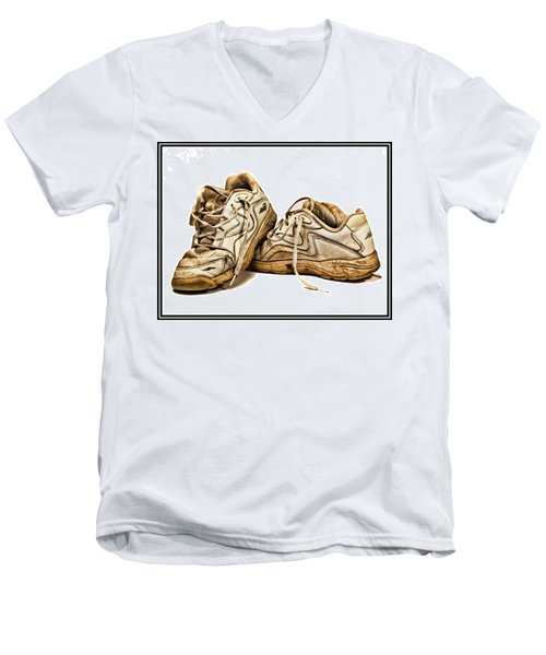 All Worn Out Men's V-Neck T-Shirt