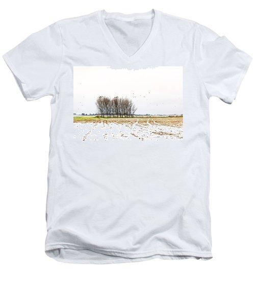 Almost Winter Men's V-Neck T-Shirt