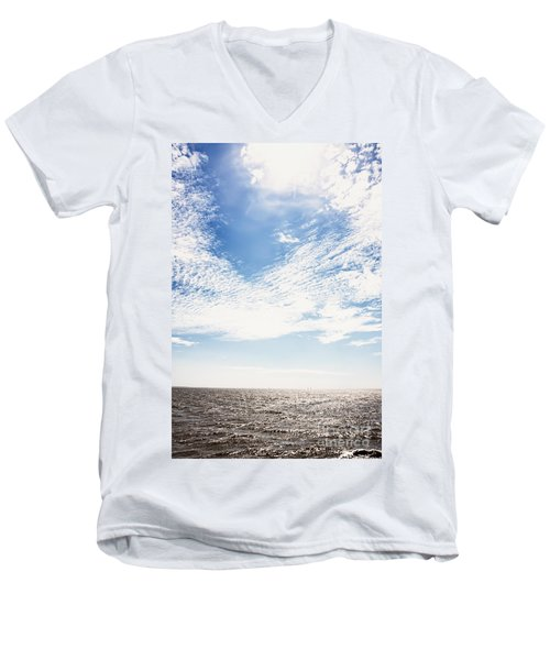 Altocumulus At Sea Men's V-Neck T-Shirt