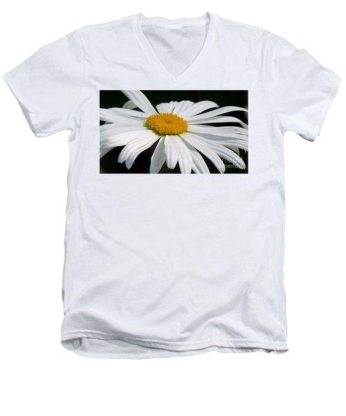 Always Men's V-Neck T-Shirt by France Laliberte