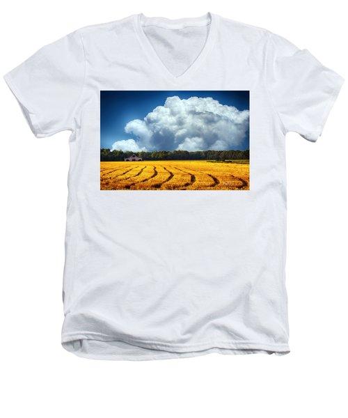 Amber Fields Men's V-Neck T-Shirt