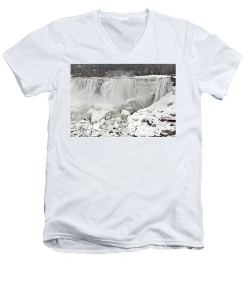 American Falls Men's V-Neck T-Shirt