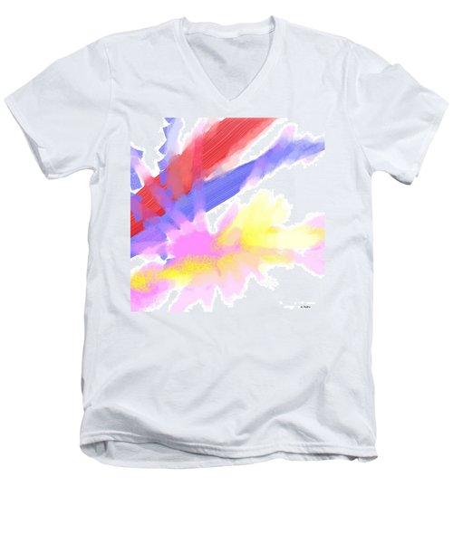 American Sunrise Men's V-Neck T-Shirt