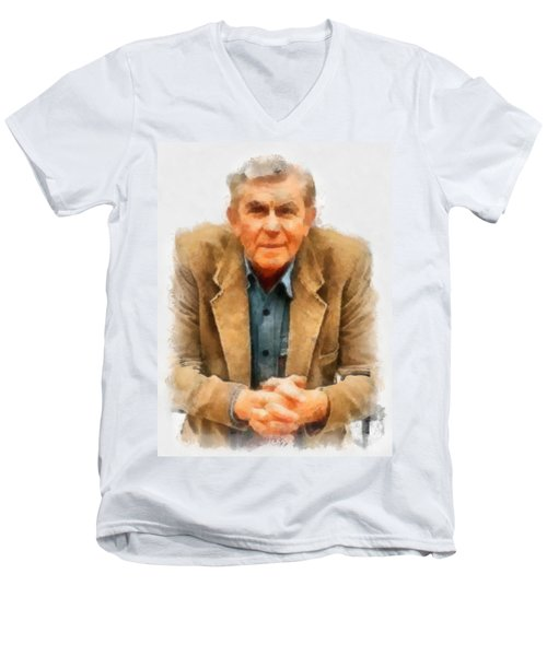 Andy Griffith Men's V-Neck T-Shirt