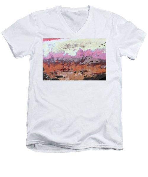Ap24 O Men's V-Neck T-Shirt by Fran Riley