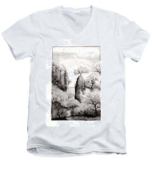 Arbres Separes Men's V-Neck T-Shirt
