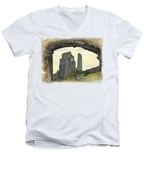 Archway To History Men's V-Neck T-Shirt