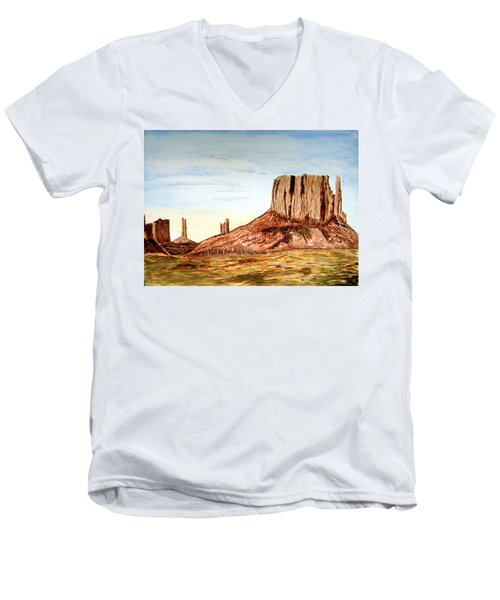 Arizona Monuments 2 Men's V-Neck T-Shirt