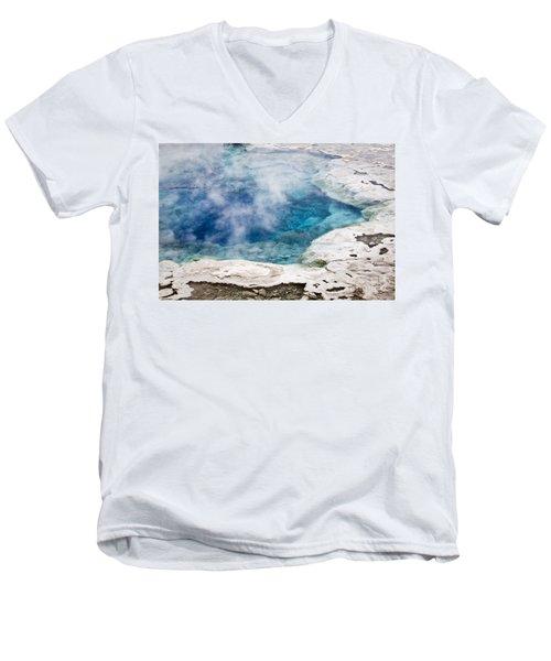 Artemisia Geyser Men's V-Neck T-Shirt