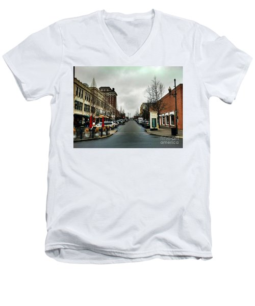 Asheville North Carolina Men's V-Neck T-Shirt