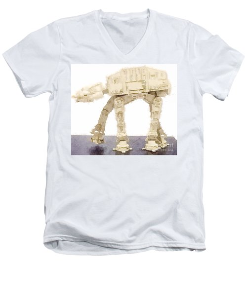 At-at All Terrain Armored Transport Men's V-Neck T-Shirt