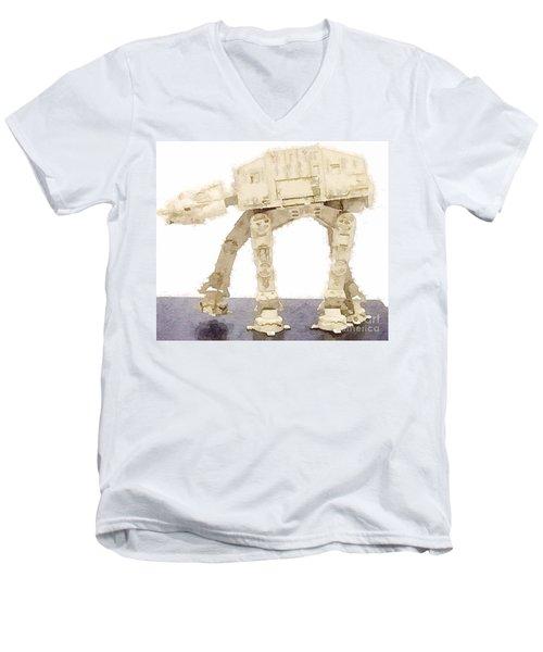 At-at All Terrain Armored Transport Men's V-Neck T-Shirt