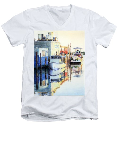 At Cortez Docks Men's V-Neck T-Shirt