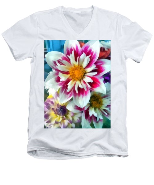 Autumn Bouquet Men's V-Neck T-Shirt
