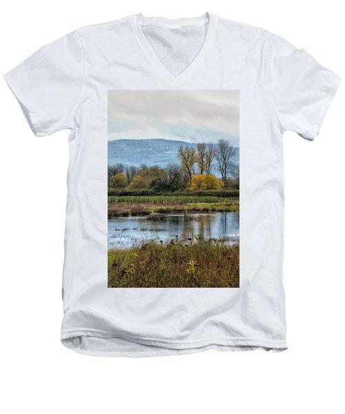 Autumn Haven Men's V-Neck T-Shirt