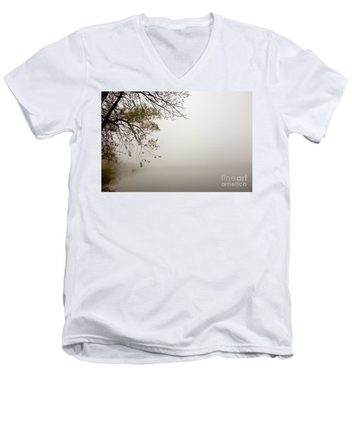 Autumn Mist Men's V-Neck T-Shirt