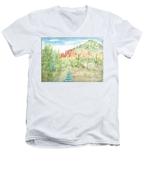 Backyard Sedona Men's V-Neck T-Shirt