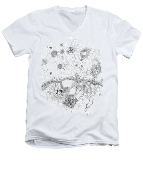 Bacteriophage Ballet Men's V-Neck T-Shirt